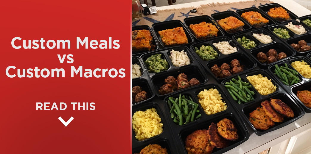 Custom Meals vs Custom Macros: What's the Difference?