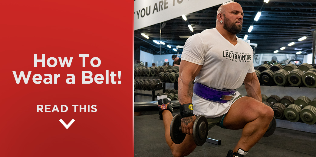 How to Use and Wear a Lifting Belt